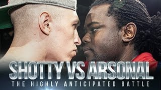 SHOTTY HORROH VS ARSONAL | Don't Flop Rap Battle
