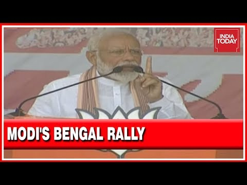 PM Modi's Scathing Attack On CM Mamata At Purulia Rally In West Bengal   Watch Full Speech Here