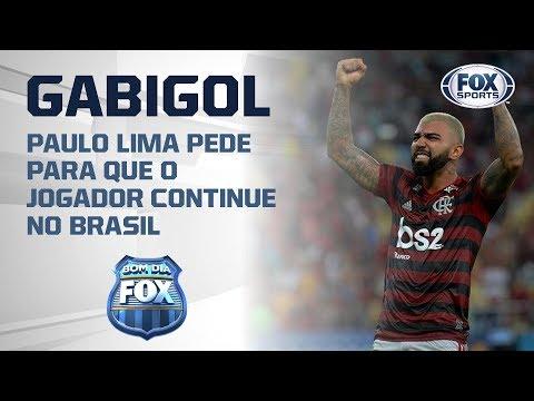 Fica Gabigol? Paulo Lima pede para que atacante do Flamengo fique no Brasil
