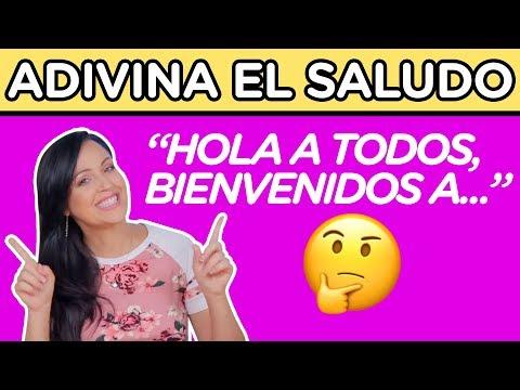 ADIVINA EL SALUDO DEL YOUTUBER   ¿PODRAS ADIVINARLOS TODOS?   YOU OCIO