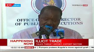 CS Matiang\'i and DP Haji attends trade conference,sends a warning to those engaging in illicit trade