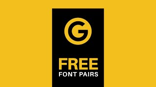 5 FREE Google Font Pairs You Need!