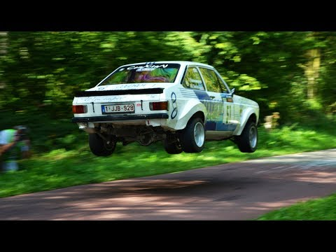 Escort Rally Special 2019  BEST OF w/ BIG JUMPS 
