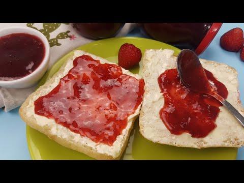 0 Gem de căpșuni și căpșuni