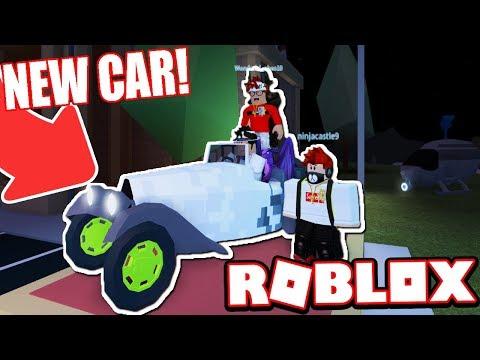 MILLION DOLLAR CLASSIC CAR RACE! (Roblox Jailbreak) - смотреть