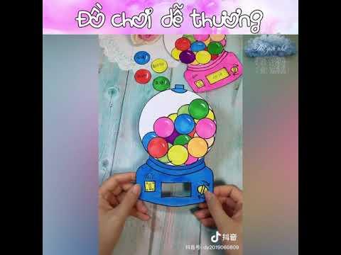 Hướng dẫn trẻ cách làm đồ chơi ở nhà