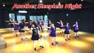 Another Sleepless Night (by Yvonne Krause-Schenck) - Line Dance (Demo & Walkthru) ~ 另一個夜未眠 - 排舞(含導跳)