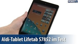 Aldi-Tablet: Medion Lifetab S7852 im PC-WELT-Test | deutsch / german