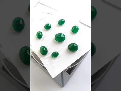 Zambian Emerald Cabochon