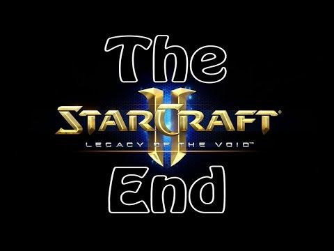 StarCraft II Legacy of the Void Прохождение Walkthrough Конец Игры Финал Фин Концовка The End Ending