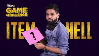 Item Hell Challenge with RakaZone Gaming | Tech2 Game Challenge | PUBG