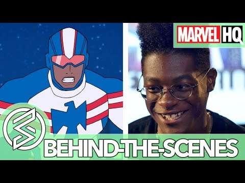 Who is Patriot? With Kamil McFadden   Marvel Rising: Initiation   FEATURETTE