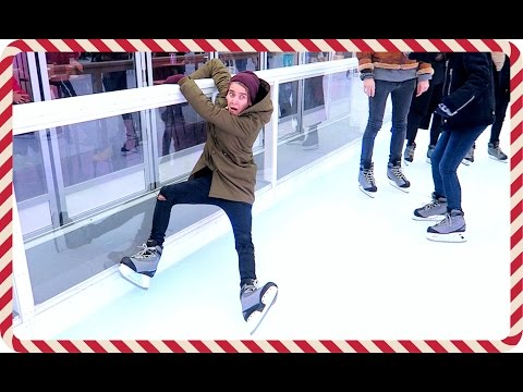 HOW NOT TO ICE SKATE