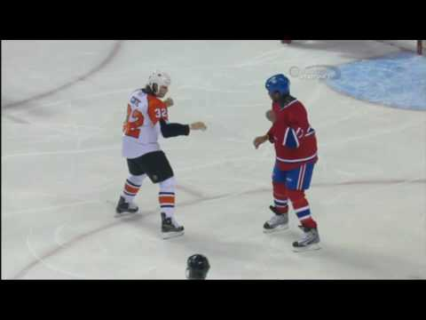 Georges Laraque vs. Riley Cote