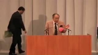 武道館4月17日外国人参政権に反対する国民大会佐々淳行氏