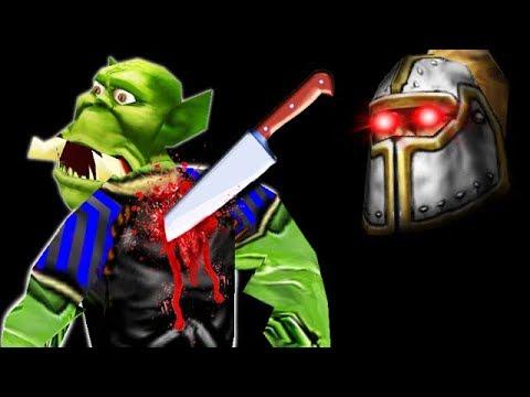 Напали в спину в Warcraft 3