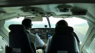 preview picture of video 'Tropic Air - Landing in Belmopan / Belize'