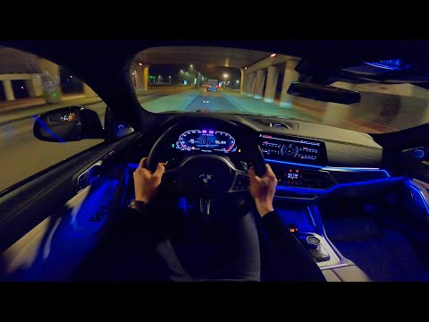 2020 BMW X6 NIGHT DRIVE POV | AMBIENT LIGHTING by AutoTopNL