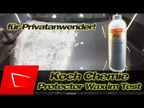 Koch Chemie Protector Wax im ersten Test - Das Hochleistungswachs für Privatanwender Teil 1