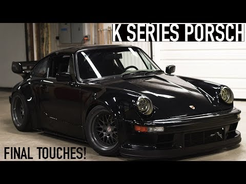 $10,000 DOLLAR WHEELS! | K Series Porsche 911
