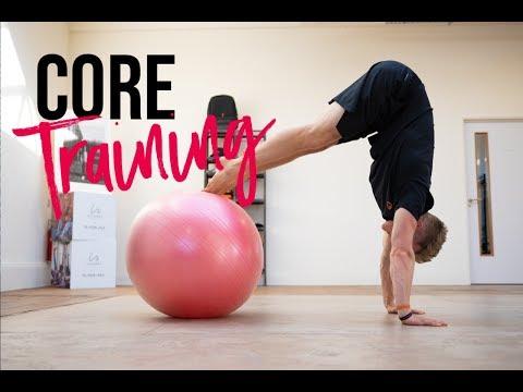 Stability Ball Pike Tutorial // School of Calisthenics