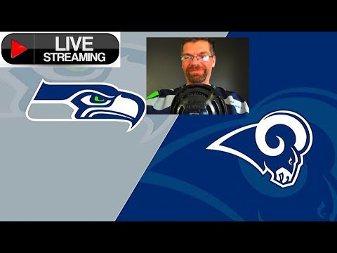 Seattle Seahawks vs Los Angeles Rams Live Play by Play!