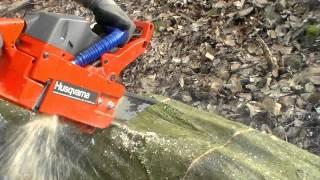 Motorová pila-Husgvarna 50 Special r.v.1987chainsaw (embrus video) 2015
