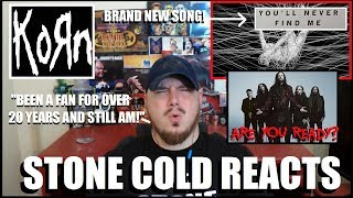 "*BRAND SPANKIN' NEW KORN!!!* ""You'll Never Find Me"" Reaction"