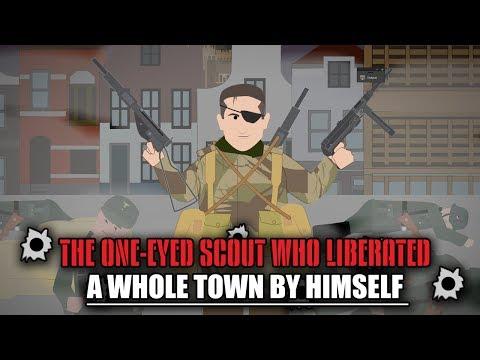 Jednooký průzkumník, který sám osvobodil celé město