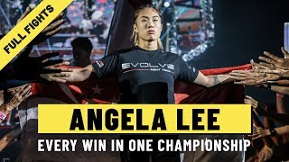 Every Angela Lee Win | ONE: Full Fights