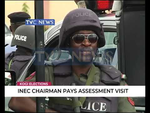 INEC chairman pays assessment visit to Kogi