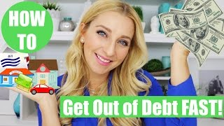 How to Get out of Debt! (How We Got Out of $30,000 in Debt!)