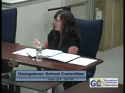 5116 1 School Committee Meeting 7 24 18