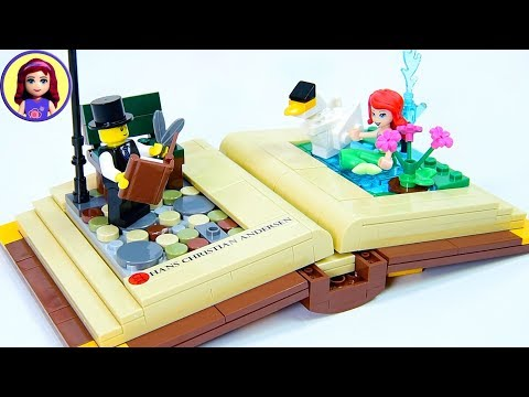 Lego Open Story Book – Hans Christian Andersen Scene Build Review Kids Toys