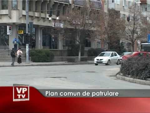 Plan comun de patrulare