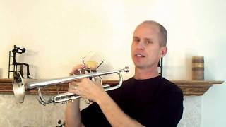 How To Play The Trumpet - Learning With A Mirror Plus Easy Songs