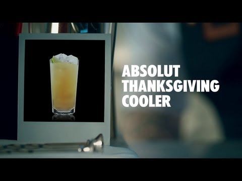 Video ABSOLUT THANKSGIVING COOLER DRINK RECIPE - HOW TO MIX