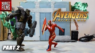 Avengers: INFINITY WAR Stop Motion Film Series [Part 2]