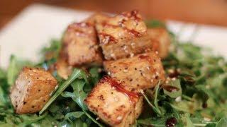 How to Make Tofu Taste Delicious! Crispy Teriyaki