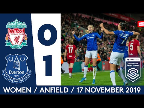 BLUES WIN AT ANFIELD IN HISTORIC WSL DERBY! | LIVERPOOL 0-1 EVERTON