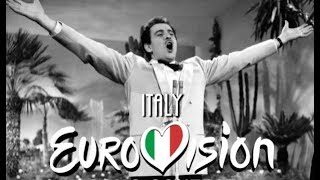 Eurovision Song Contest   Italy (1956 - 2018)   All The Entries