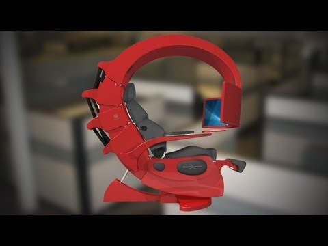 Hak5 - The Perfect Work Station Chair For Programmers and Gamers: Emperor 1510 at 2012