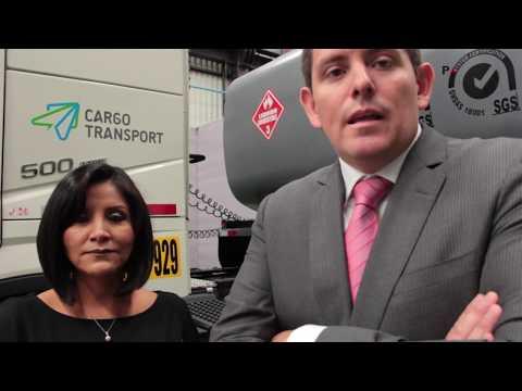 CARGO TRANSPORT - Ángela Campos, Gerente General y Darío Tristán, Gerente Corporativo
