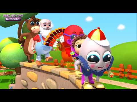 Humpty Dumpty - Nursery Rhymes - Kids Songs - Finger Family Song