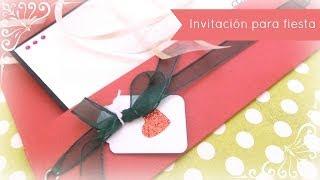 Cómo hacer una invitación para una fiesta navideña. DN4-2013