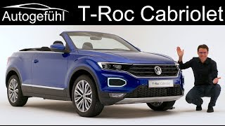 VW T Roc Cabriolet Premiere REVIEW Exterior Interior   Autogefühl