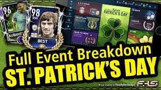 FIFA Mobile St. Patrick's Day Event Breakdown - 97 Max OVR and 97 rated Buffon F2P