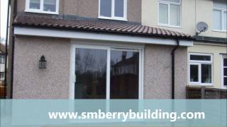 preview picture of video 'How to build a single storey home extension in Sidcup Kent in six weeks'