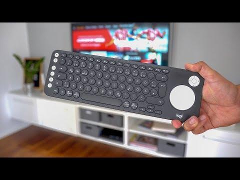 Logitech K600 - smarte TV Tastatur mit Touchpad | deutsch