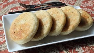 Easy English Muffins - How to Make English Muffins